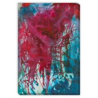 Sylvia Angeli's 'Divulge II' Canvas Gallery Wrap