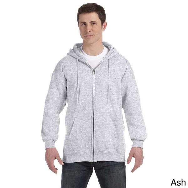 Hanes Men's Ultimate Cotton 90/10 Full-zip Hooded Jacket