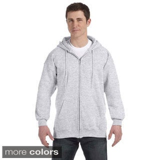 Hanes Men's Ultimate Cotton 90/10 Full-zip Hooded Jacket