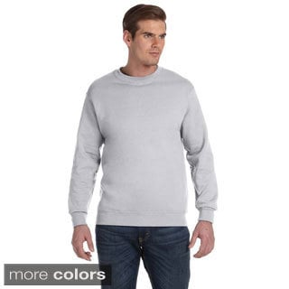 Gildan Men's DryBlend 50/50 Fleece Crew Sweater/ Sweatshirt
