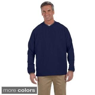 Ashworth Men's V-neck Wind Jacket