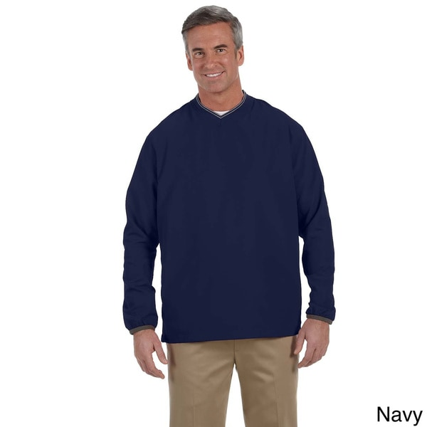 Ashworth Men's V-neck Wind Jacket