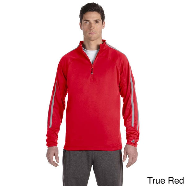 Russell Men's Tech Fleece Quarter-zip Cadet Jacket
