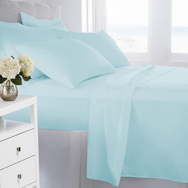 Double-brushed Microfiber 4-piece Sheet Set