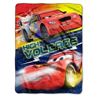 Cars High Voltage Royal Plush Throw Blanket