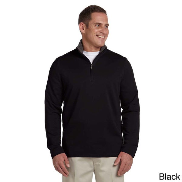 Ashworth Men's French Terry Half-zip Pullover