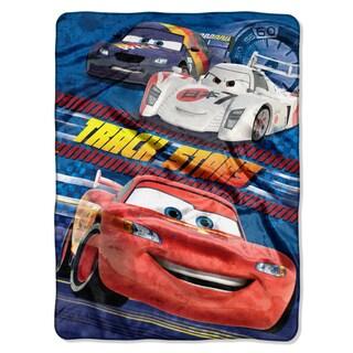Cars Velocity Royal Plush Raschel Throw Blanket