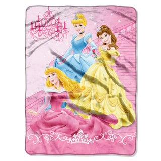 Princess Royal Charms Plush Raschel Throw Blanket