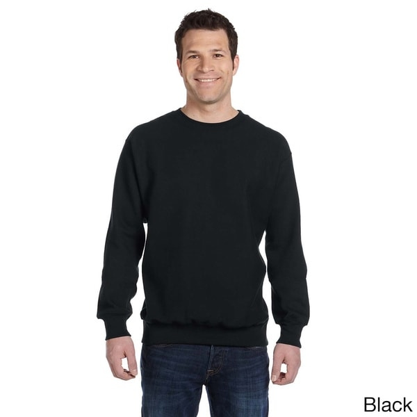 Weatherproof Men's Cross-weave Crew Neck Shirt