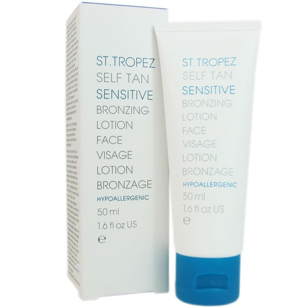 St. Tropez Self Tan Sensitive 1.6-ounce Bronzing Face Lotion