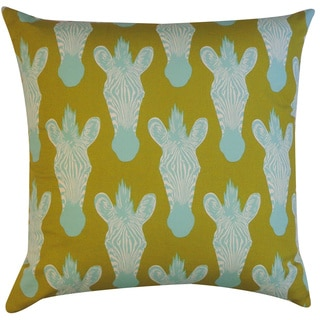Safari Olive Animal 20x20-inch Pillow