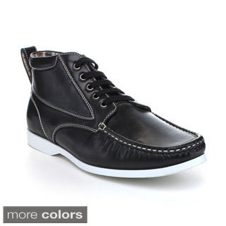 Arider BRIKE-01 Men's Casual Square Toe Lace-up Oxfords