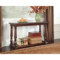 Signature Designs by Ashley Sutwick Rustic Brown Sofa Table