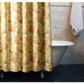 Sunset Paisley Polyester Shower Curtain