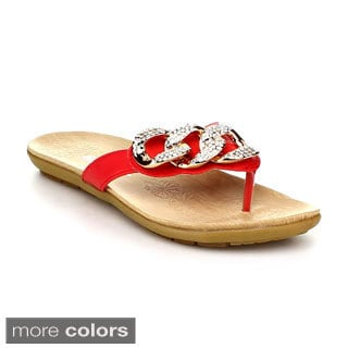 FOREVER CALISTA-23 Women's Filp Flop Sandals