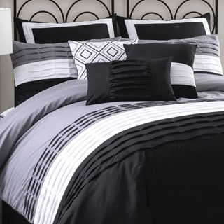 Lush Decor Mia 8-piece Contemporary Comforter Set
