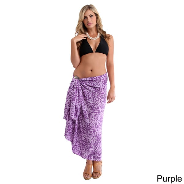 Hand-crafted Women's Feline Sarong (Indonesia)