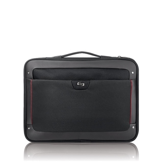 Solo Sterling Slim 17.3-inch Black Laptop Briefcase