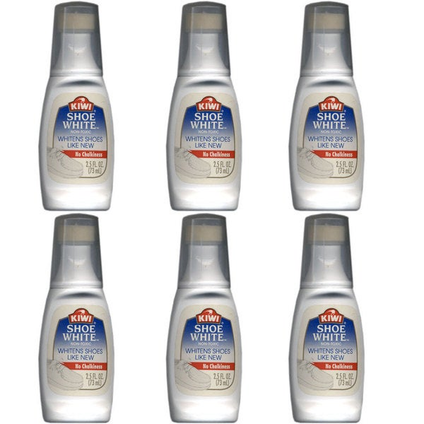 Kiwi Choice Shoe Whitener, 2.5 ounces (6 Pack)