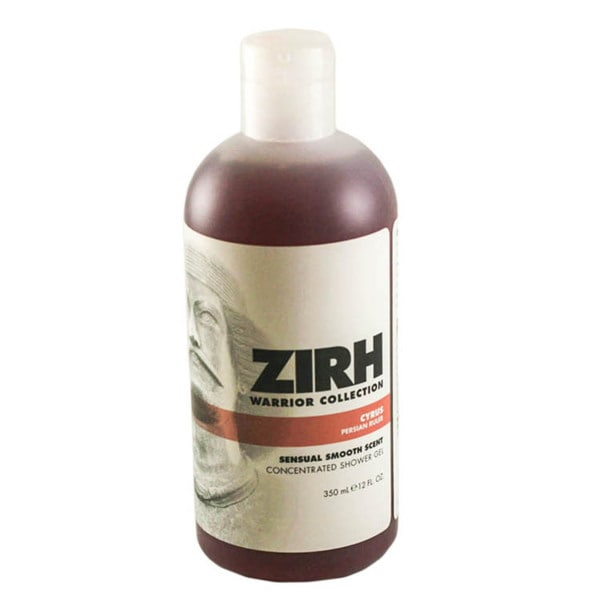 Zirh Warrior Collection Cyrus Concentrated 12-ounce Shower Gel