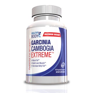 Healthy Body 500mg Garcinia Cambogia Extreme (180 Capsules)