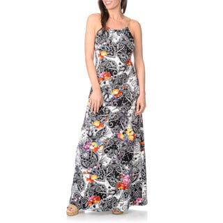 Lennie for Nina Leonard Women's Abstract Printed Maxi Dress