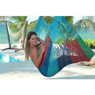 Savannah Thick Cord XL Mayan Multicolor Chair Hammock , Handmade in Mexico