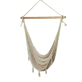 Savannah Thick Cord XL Mayan Ecru Chair Hammock (Mexico)