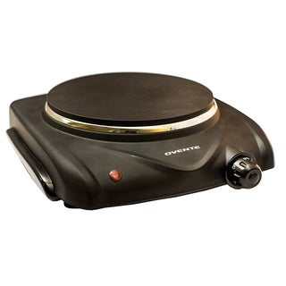 Ovente BGD1B Portable Single Electric Burner