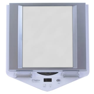 Zadro White LED-lighted Fogless Mirror