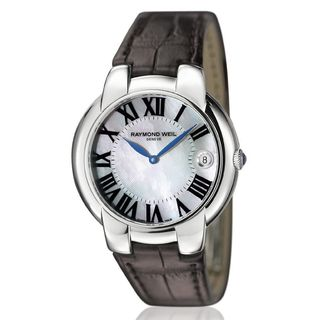 Raymond Weil Women's 5235-STC-00970 Jasmine Leather Watch