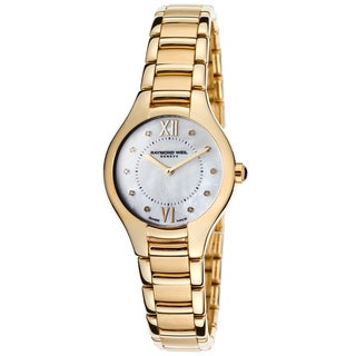 Raymond Weil Women's 5124-P-00985 Noemia Diamond PVD Watch