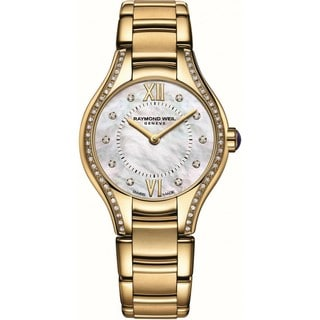 Raymond Weil Women's 5124-PS-00985 Noemia Diamond PVD Watch