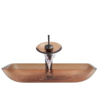 The Polaris Sinks P046 Coral Oil Rubbed Bronze Bathroom Ensemble