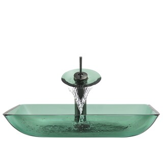 The Polaris Sinks P046 Emerald Oil RubbedBronze Bathroom Ensemble