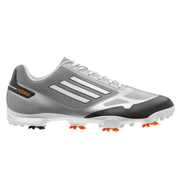 Adidas Men's Adizero One Mid Grey/Zest/Running White Golf Shoes