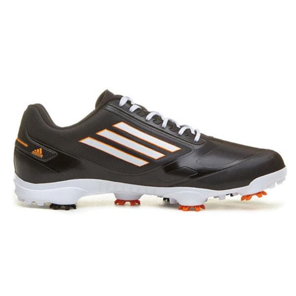 Adidas Men's Adizero One Black-Running/White-Zest Golf Shoes