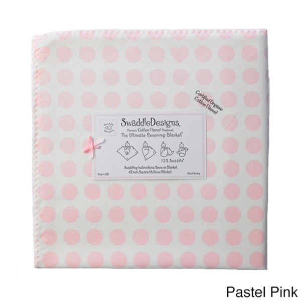 SwaddleDesigns Organic Receiving Blanket