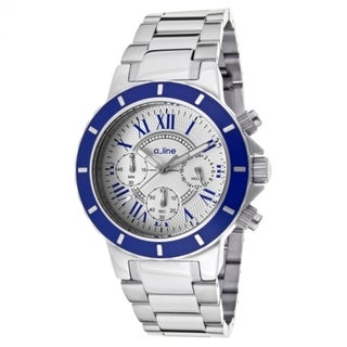 A Line Women's Marina Light Silver Stainless Steel Watch AL-80015-22-BU