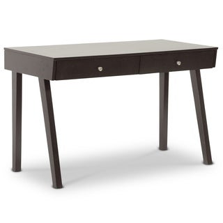 Baxton Studio Blaknell Dark Brown Modern Desk