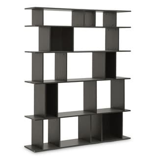 Baxton Studio Tilson Dark Brown Modern Bookshelf