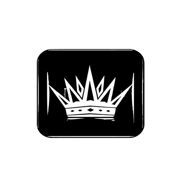 Royal Crown Vinyl Wall Art