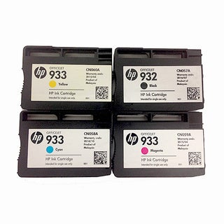 Genuine HP 932 933 Ink Cartridges (Pack of 4)