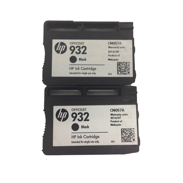Genuine HP 932 Black Original Ink Cartridge (Pack of 2)