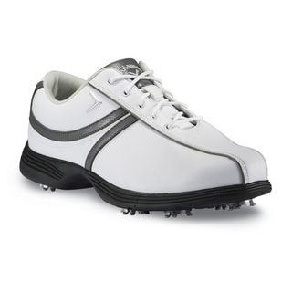 Callaway Savory White/ Dark Grey Womens Golf Shoes