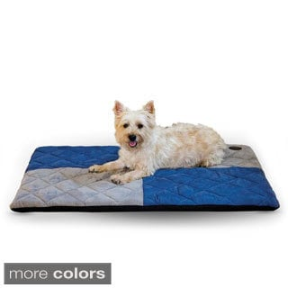 K&H Pet Products Quilted Memory Dream Bed