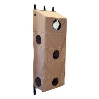 K&H Pet Products Hanging Small Tan Cat Condo