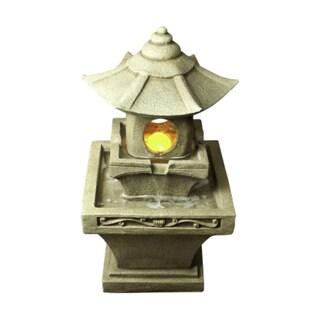 Bond Komoro Fountain with 6 LED Lights