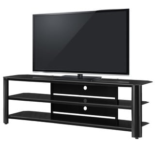 InnovEx Oxford 65-inch Black TV Stand