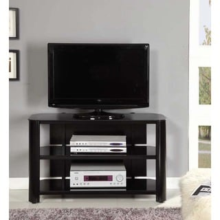 InnovEx Oxford 42-inch Black TV Stand